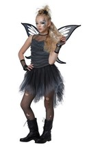 Mystical Fairy Halloween Costume Girl Child XL 12 - 14  Black - $54.81