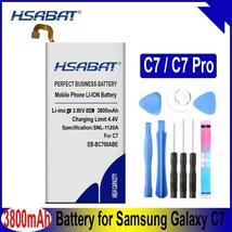 HSABAT 3800mAh EB-BC700ABE Battery for Samsung Galaxy C7 SM-C7010 Duos C7018 C7  - $18.66