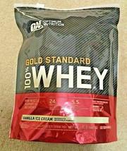 1.5lb ON Optimum Nutrition Gold Standard 100% Whey Vanilla Ice Cream 22 Servings - $28.66