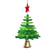 Mini Christmas Tree Jingling Bell For Christmas Hanging Decorations Orna... - $13.99