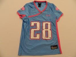 M101 New Flawed Reebok Titans Chris Johnson Women's Sweatheart Women's Jersey S - $24.70