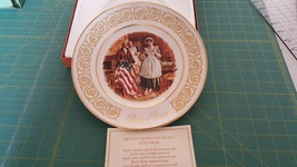 Avon Betsy Ross plate - Patriot flag maker - 1973 - $4.59