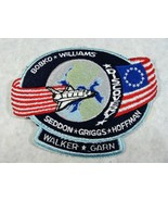 NASA SPACE SHUTTLE DISCOVERY WITH CREW MEMBERS NAMES BOBKO WILLIAMS SEDD... - $14.84