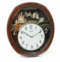 Fantasy Princess Musical Enchanting Wall Clock, Swarovski Crystals, By R... - $123.73