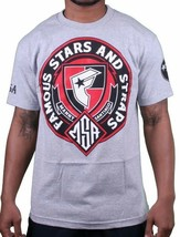 Famous Stars & Straps X Msa Onore Manny Santiago Skate Grigio T-Shirt