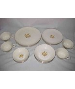 Great Vintage Set Of 20 Pieces Taylor Smith Taylor Wheat Pattern Versatile - $154.62