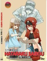 Cells At Work Hataraku Saibou Vol.1-13 End ANIME English Subs Ship From USA