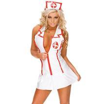YKSH Woman's Sexy Lingerie Nurse Uniform image 1