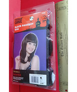 Fashion Holiday Head Accessory OSFM Black Pageboy Wig Halloween Costume ... - $6.64