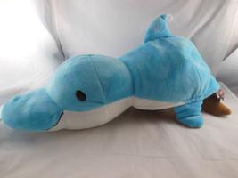 "Flip A Zoo Harper Dolphin Willow Walrus 2 in 1 Stuffed Animal 20"" FLIPAZOO NICE - $16.57"
