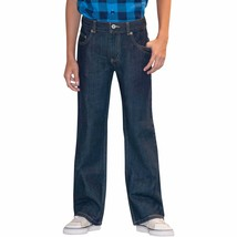 Faded Glory Boys Bootcut Jeans Rinse W Tint Size 4 Regular NEW - $12.86