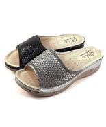 Chic by Lady Couture Fine Wedge Platform Dressy Slip On Sandals Choose S... - $49.00