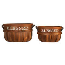 Darice Chipwood Basket: 2 pieces w - $29.99