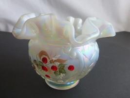 Fenton Opalescent Glass Vase  - $29.69