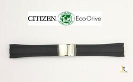 Citizen Eco-Drive Original 59-S54206 24mm Black Rubber Watch Band Strap  - $189.95