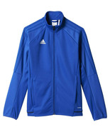 NWT Boy's Size Medium Adidas Blue Tiro 17 Training Jacket - $19.59