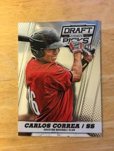 Carlos Correa 2013 Panini Prizm Draft Picks #11 Baseball Card NM Astros ROOKIE - $3.59