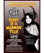 "Ozzy Osbourne - Randy Rhoads ""DOAMM"" Era Reproduction Concert Stand-Up D... - $16.99"