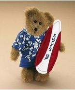 "Boyds Bears ""Edmund"" - Surfs Up- 8"" Plush Bear - #9175-30~ NWT~2008~ Ret... - $39.99"