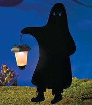 Solar Lighted Stake Halloween Ghost Silhouettes Yard Decoration - €25,32 EUR