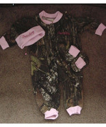 Personalized Girls Camo Camouflage 3PC Baby Infant Newborn Set Girl Pink... - $47.99
