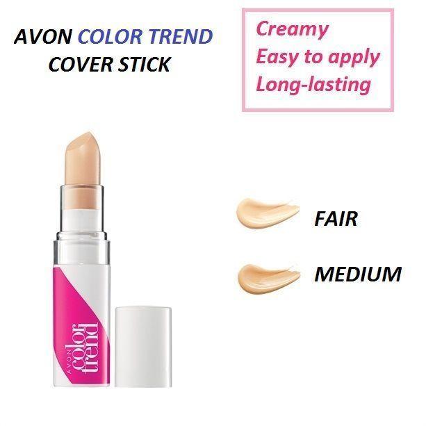 NEW AVON Color Trend Creamy CONCEALER Stick Correcteur Perfect & Hide Blemishes - $4.67