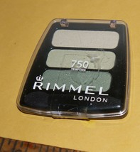 Rimmel London Colour Rush Trio Eye Shadow in Tempting # 750 Compact NEW - $7.43