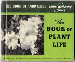 1940 The book of Plant Life Illustrated, Little Reference Series Rand Mc... - $11.87