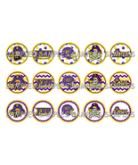 "ECU East Carolina 1"" Bottle Cap Image Sheet (4x... - $2.00"