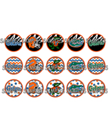 "University Of Florida Gators 1"" Bottle Cap Imag... - $2.00"