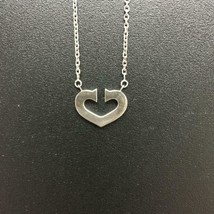 Cartier C Heart necklace accessories White Gold 18KWG Ladies - $1,144.81