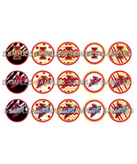 "Iowa State Cyclones 1"" Bottle Cap Image Sheet (... - $2.00"