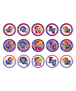 "University Of Kansas Jayhawks 1"" Bottle Cap Ima... - $2.00"