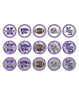 "Kansas State Wildcats 1"" Bottle Cap Image Sheet... - $2.00"