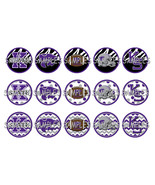 "Kansas State Wildcats Zebra 1"" Bottle Cap Image... - $2.00"