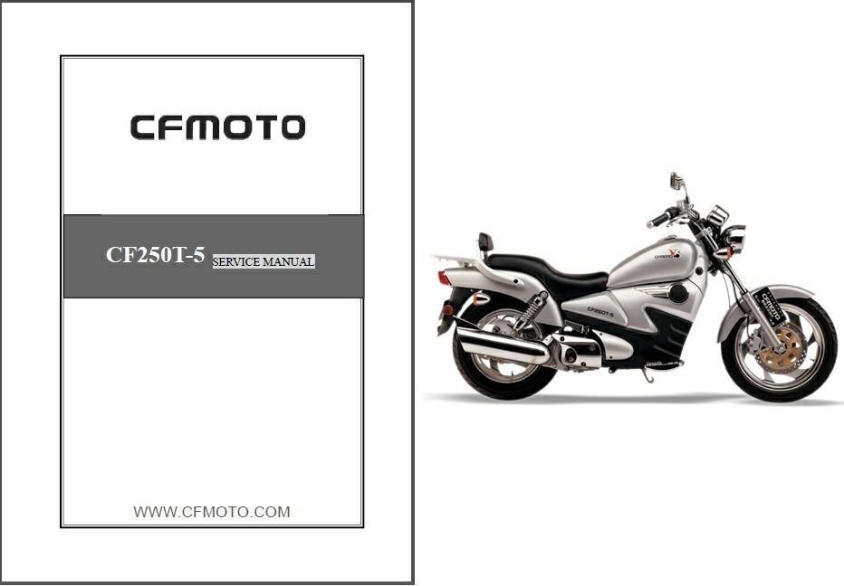 cf moto v5 service manual