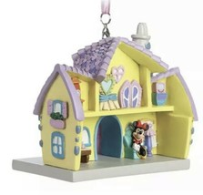 Disney Parks Minnie Mouse Toon Town House Resin Ornament New With Tags - $37.95