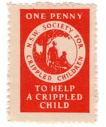 (I.B) Australia NSW Cinderella : Help a Crippled Child 1d - €5,39 EUR