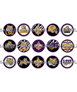 "LSU Louisiana State Univ. Tigers 2 1"" Bottle Ca... - $2.00"