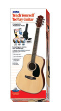 Guitar Starter Pack/Steel Strung Acoustic/Includes Tuner/By Alfred Music