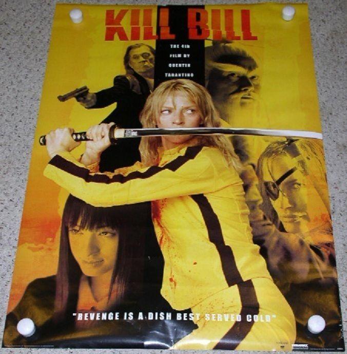 Kill Bill Poster 24in x 36in