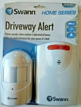 Swann White Wireless Battery Operated Driveway Alert Motion Sensor & Det... - $19.99