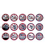 "NFL New England Patriots 1"" Bottle Cap Image Sh... - $2.00"