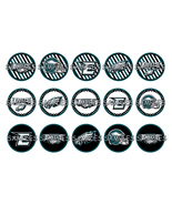 "NFL Philadelphia Eagles 2 1"" Bottle Cap Image S... - $2.00"