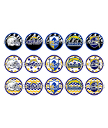 "NFL San Diego Chargers 1"" Bottle Cap Image Shee... - $2.00"