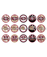 "NFL San Francisco 49ers 1"" Bottle Cap Image She... - $2.00"