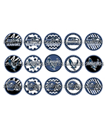 "NFL Seattle Seahawks 1"" Bottle Cap Image Sheet ... - $2.00"