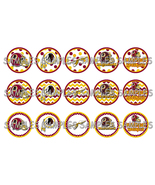 "NFL Washington Redskins 1"" Bottle Cap Image She... - $2.00"