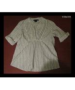 CALVIN KLEIN JEANS Cotton short sleeve Misses Top with sequins - Petite ... - $20.00