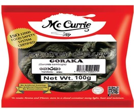 Mc Currie Garcinia Cambogia (Goraka) 100g Premium Quality Ceylon Free Sh... - $7.43